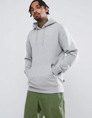 Vans small logo pullover hoodie in gray VN0A3HQ202F1