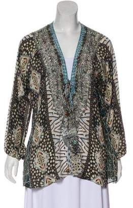Camilla Silk Long Sleeve Blouse