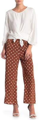 CODEXMODE Polka Dot Wide Leg Pants