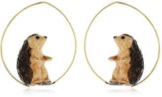 Nach Hedgehog Earrings