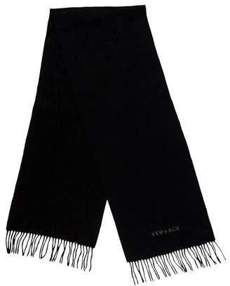 Versace Wool Fringe Fringe