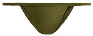 Matteau - The Petite Bikini Briefs - Womens - Khaki