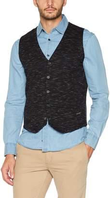 Tom Tailor Men's Knitted Waistcoat Jumper