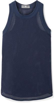 adidas by Stella McCartney Stretch-mesh Tank - Navy