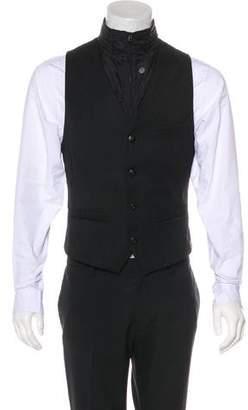 G Star Wool-Blend Zip Vest