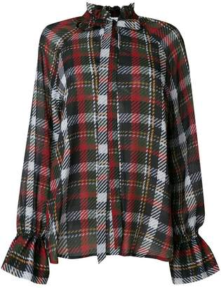 Blugirl check shirt