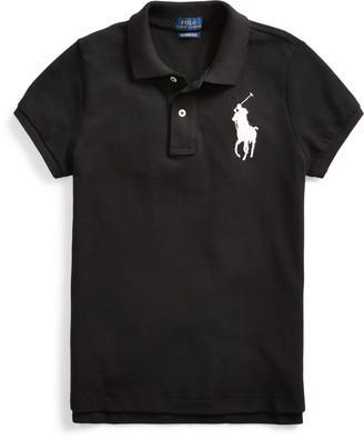 Ralph Lauren Skinny Fit Big Pony Polo Shirt