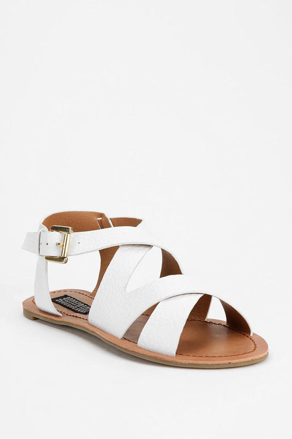 Deena & Ozzy Pebbled Leather Sandal