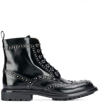 Church's studded lace-up boots