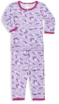 Esme Kid's Two-Piece Unicorn Pajama Set