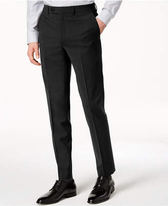 Calvin Klein Men's Skinny-Fit Infinite Stretch Black Suit Pants