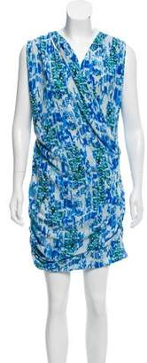 IRO Printed Mini Dress