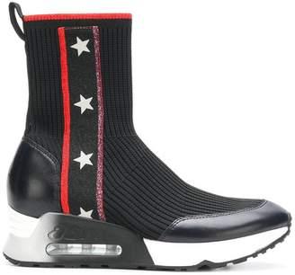 Ash Liberty hi-top sock sneakers
