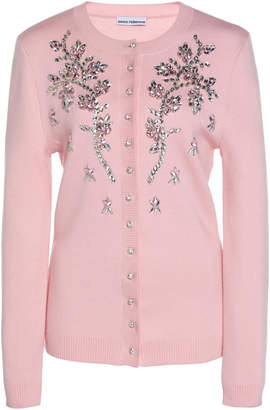 Paco Rabanne Hand-Embroidered Wool Cardigan Size: S