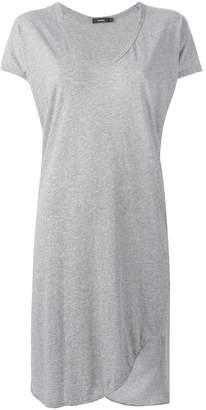 Bassike v-neck T-shirt dress
