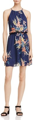 Joie Makana Floral Print Silk Dress $388 thestylecure.com