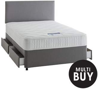 Silentnight Mirapocket Mia 1000 Pocket Luxury Divan Bed With Storage Options And Half-Price Headboard Offer
