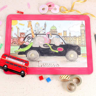 Milly Green London Taxi Placemat
