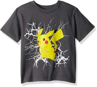 Pokemon Big Boys Ball Short Sleeve Tee