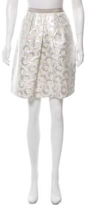 Max Mara Weekend Metallic A-Line Skirt w/ Tags