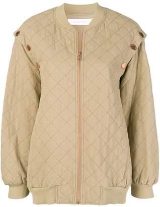 See by Chloe oversized bomber jacket