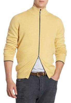 Brunello Cucinelli Long-Sleeve Cashmere Cardigan