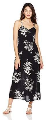 Peace Love Maxi Women's Side Slit Long Dress