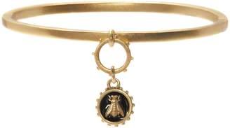 Vince Camuto Jewelry Bee Enamel Charm Bangle