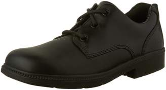 Clarks Boys Deaton Lace JR Lace Up School Shoe