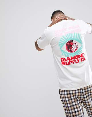 Diamond Supply Co. T-Shirt With Back Print