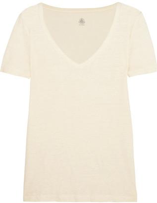 Petit Bateau Linen-jersey T-shirt $99 thestylecure.com