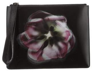 Christopher Kane Lenticular Blooming Lily Clutch