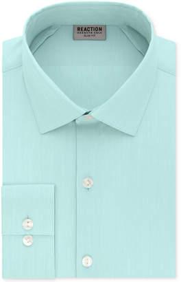 Kenneth Cole Reaction Slim-Fit Techni-Cole Flex Collar Solid Dress Shirt $69.50 thestylecure.com