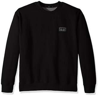Obey Men's These Eyes Crew Neck Fleece Sweatshirt