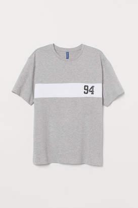 H&M Block-coloured T-shirt