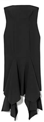 Vince Camuto Flounce-hem Strapless Dress