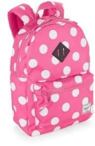 Herschel Kid's Heritage Y Polka Dot Backpack