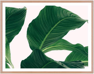 Artefocus Large Leaves Framed Wall Art