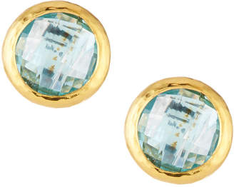 Gurhan Galapagos Blue Topaz Stud Earrings