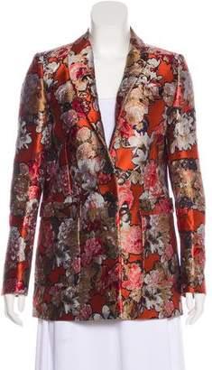 Givenchy Floral Jacquard Jacket