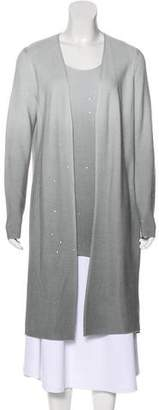 Lafayette 148 Ombré Silk-Blend Cardigan Set w/ Tags