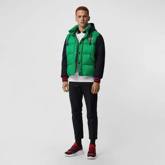 Burberry Neoprene Down-filled Hooded Jacket