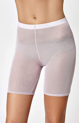 La Hearts Mesh Bike Shorts