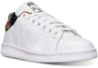 adidas Women's Stan Smith Casual Sneakers from Finish Line $84.99 thestylecure.com