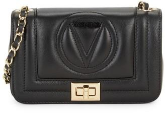 Mario Valentino Valentino By Beatriz Sauvage Quilted Logo Crossbody Bag
