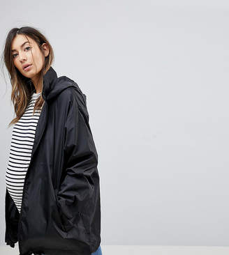 Asos Design Maternity Rain Jacket
