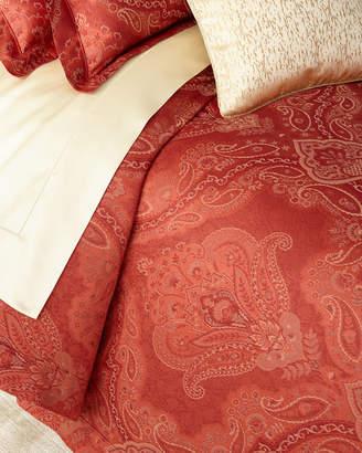 Sferra Full/Queen Floral Paisley Duvet Cover