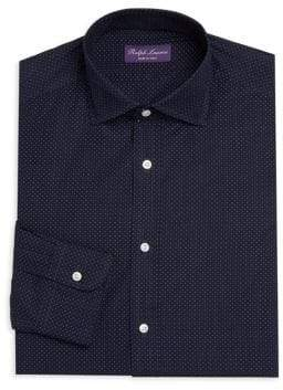 Ralph Lauren Purple Label Woven Cotton Dress Shirt
