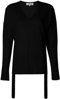 Enfold v-neck jumper