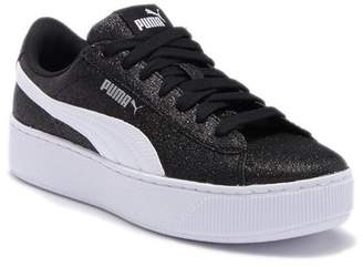 Puma Vikky Platform Glitz Platform Sneaker (Toddler & Little Kid)
